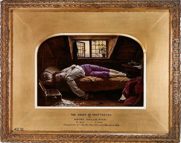 Henry Wallis The Death of Chatterton [reduction]